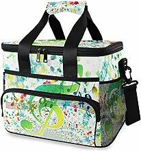 LENNEL Portable Picnic Bag Multifunction Fashion