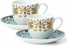 Lenox 889453 Global Tapestry8482 Espresso-Set,