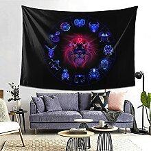 Leo Hippie Neon Horoskop Kreiszeichen Sternzeichen