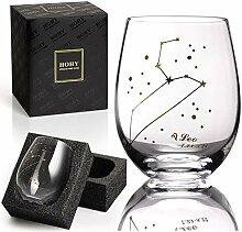 Leo Weinglas ohne Stiel, Sternbild Glas definieren