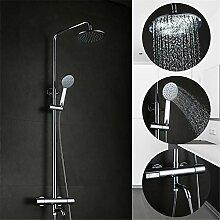 Leohome Bad Thermostat-Dusche Wasserhahnset