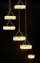 LeohomeModerne LED Kristallleuchter-Licht-Lampe