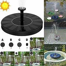 Leoie Solar-Vogeltränke, Wasserpumpe,