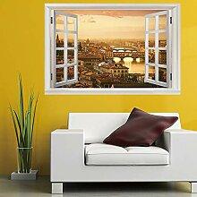 Leoljc Seaside City 3D Gefälschte Fenster
