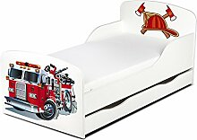 LEOMARK Kinderbett 140x70 mit Schublade