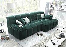 LEON Couch Schlafsofa Sofa Armteilverstellung