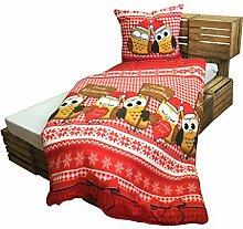 Eulen Bettwäsche Unsere Besten Günstig Online Kaufen Lionshome