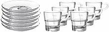 LEONARDO 032829 SENSO 12tlg. Espressoset, Glas