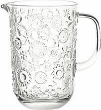 Leonardo 037799 Glas Krug Fiorita 1,2 L, klar