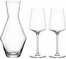 LEONARDO 069528 PUCCINI Weinset 3tlg, Glas
