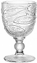 Leonardo 24055 - Weinglas - LIDO - Fischmotiv - Glas - 300 ml
