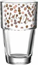 LEONARDO Becher Solo Latte Macchiato 410 ml, Glas