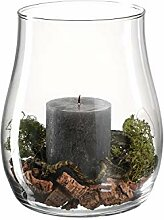 Leonardo Casolare Windlicht mit Kerze und Deko,