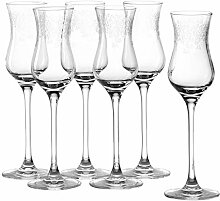 Leonardo Chateau Grappaglas, 6-er Set, 90 ml,
