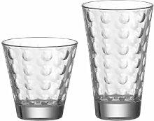 Leonardo Ciao Optic Wasser-Gläser, 12er Set,