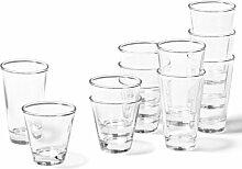 Leonardo Ciao Trink-Glas, Trink-Becher aus Glas,