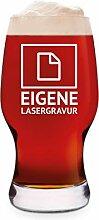 Leonardo Craft Beer Glas 0,33 L Bierglas Gravur