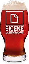 Leonardo Craft Beer Glas 0,5 L Bierglas Gravur