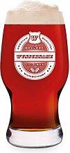 Leonardo Craft Bier Glas 0,33 L Bierglas Gravur