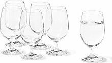 Leonardo Daily Wasser-Glas, Trink-Becher aus Glas,