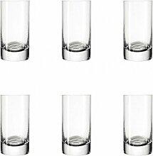 Leonardo Easy+ Schnaps-Gläser, 6er Set,