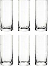 Leonardo Easy+ Trink-Gläser, 6er Set,
