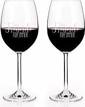 Leonardo Freundinnen Rotweingläser-Set mit Gravur