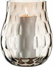 Leonardo Garten Glas braun Kerzenhalter