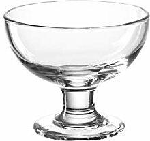 Leonardo Glas-Schale Cucina, runde Deko-Schale aus