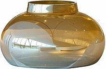 LEONARDO HOME 018651 POESIA Vase 18,4 cm gold, Glas