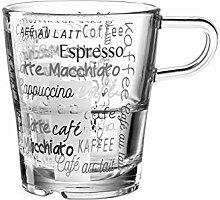 LEONARDO HOME 023996 Tasse Senso Cafe 6er Set,