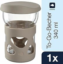 LEONARDO HOME 029266 IN GIRO To go Becher 340 ml