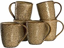 Leonardo Matera Keramik-Tassen 6-er Set,