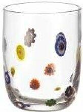 Leonardo Millefiori Glas, mehrfarbig