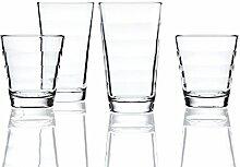 Leonardo Onda Wasser-Gläser, 12er Set,