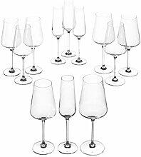 Leonardo Puccini Kelch-Glas Set, 12er Set,
