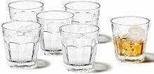 Leonardo Rock Whiskey-Glas, Trink-Becher aus Glas,