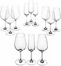 Leonardo Tivoli Kelch-Glas Set, Weißwein-,