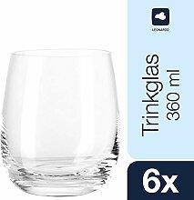 Leonardo Tivoli Trink-Gläser, spülmaschinenfeste