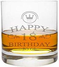 LEONARDO Whiskeyglas 18 Jahre Gravur - Geburtstag