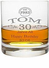 LEONARDO Whiskeyglas Gravur Motiv Glückwunsch