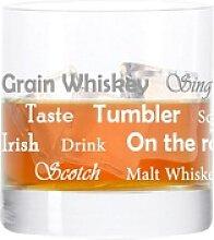 LEONARDO Whiskyglas Becher, mit Gravur, Stil 03,