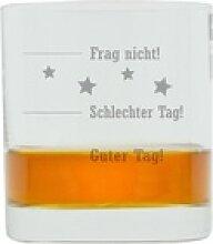 LEONARDO Whiskyglas mit Gravur, Guter Tag!