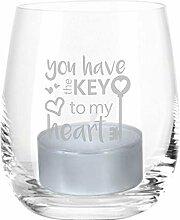 Leonardo Windlicht You Have The Key to My Heart -