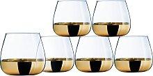 Leonique Whiskyglas Donella, (Set, 6 tlg.), mit