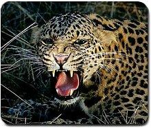 Leopard Big Cat groß Mousepad Mauspad tolle Geschenkidee