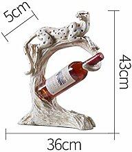 Leopard Weinregal, Weinschrank Regal