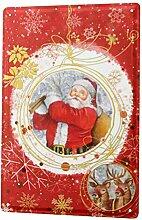 LEotiE SINCE 2004 Blechschild Nostalgie Weihnacht