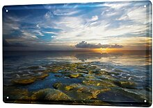 LEotiE SINCE 2004 Blechschild Wandschild 30x40 cm
