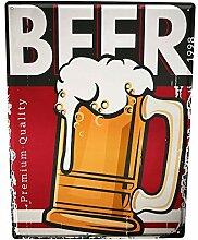 LEotiE SINCE 2004 Blechschild XXL Brauerei Bier